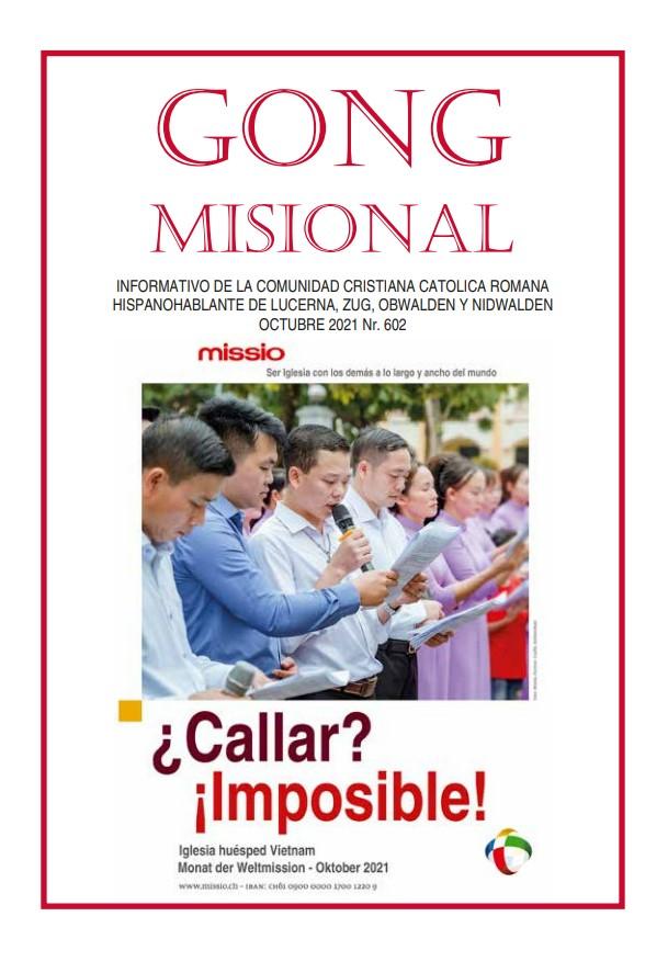24.10.2021: Jornada Mundial de las Misiones